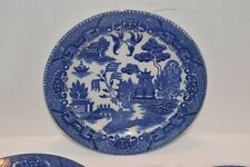 "Vintage Occupied Japan Blue Willow 6"" Bread/Butter Plates"
