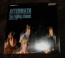 The ROLLING STONES Aftermath STEREO LP London Records PS-476 Bell Sound stereo