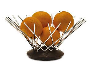 Legnoart Portafrutta fruttiera - Design Snow Flake