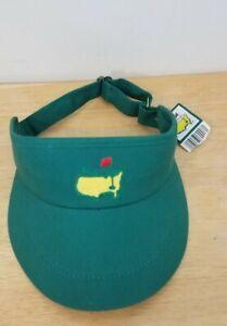 Masters Augusta National golf visor tour green NWT American Needle