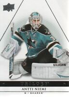 2013-14 Upper Deck Trilogy Hockey #83 Antti Niemi San Jose Sharks