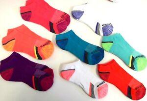Reebok 8 Pack Ladies Low Cut Socks Performance Training Sz. 9-11 New