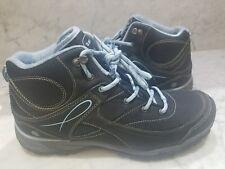 HI-TEC Womens Equilibriobijoumidi-W Black Hiking Boots Size 10 ( 147100370