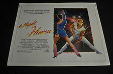 A Night in Heaven Original 22x28 Half 1/2 Sheet Movie Poster - (1983) ITB WH