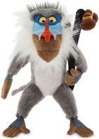 "New Official Disney Store The Lion King Rafiki Soft Plush Toy Teddy 14"""
