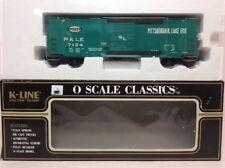 K-LINE PITTSBURGH & LAKE ERIE P&LE CLASSIC BOXCAR (#7124) K764-4091 L6807