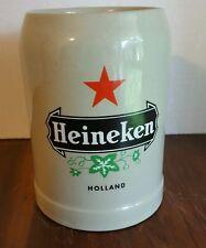 Heineken Beer Stein Mint Condition! O.5L Gerz, Great Gift!