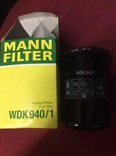 Filtro De Combustible Mann WDK 940/1 nuevo viejo stock Qty 2