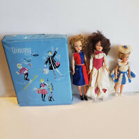 Vintage 1960's Ideal Toys Tammy & Pepper Doll w/ Case & Horsman Mary Poppins Lot