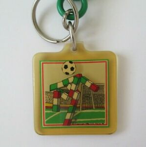 Rare Vintage Italia 90 FIFA World Cup Mascot Ciao Keychain