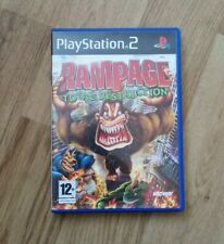 RAMPAGE TOTAL DESTRUCTION SONY PS2 GAME COMPLETE PLAYSTATION 2 MONSTERS 12+