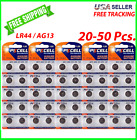 LR44 Button Cell Alkaline Batteries 1.5V Coin Cell AG13 Watch Calculator 20-50pc