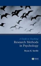Teaching Psychological Science: A Guide to Teaching Research Methods in...