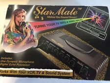 Vintage Star Mate Console RJP Electronics Microphone Amplifier Echo Processor