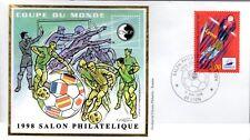 3074+ FDC  ENVELOPPE 1er JOUR     BLOC CNEP N° 26 COUPE DU MONDE DE FOOT.