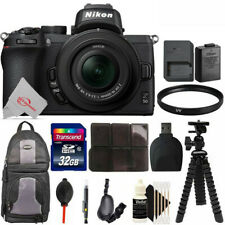 Nikon Z50 Mirrorless Digital Camera with 16-50mm Lens + Essential Accessory Kit