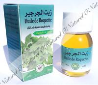 Huile de Roquette 100% Pure & Naturelle 30ml Rucola Oil, Aceite de Rúcula