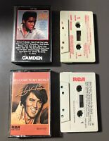 Lot of 2 Elvis Presley Audio Cassette Tapes (1965 & 1977) Welcome to My World
