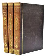 LA BIBLE, ANCIEN TESTAMENT. Trad. Le Maistre de Sacy, 3 vol., 1837. 160 Gravures