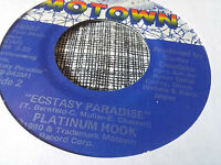 Platinum Hook 45 Ecstasy Paradise/Words of Love Motown Modern Soul Funk VG++