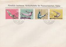 First Day Cover Liechtenstein Stamps