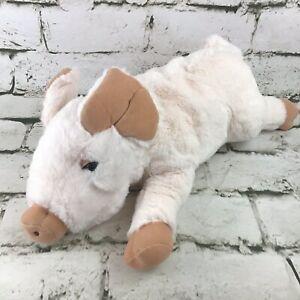 Folkmanis Piglet Plush Hand Puppet Pink Full-Body Preschool Storytelling Toy