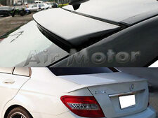Painted For Mercedes-BENZ 08~ W204 4D OE Roof + B Style Boot Trunk Spoiler C200