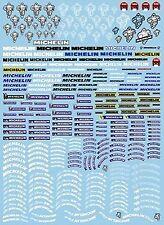 Michelin Neumáticos Patrocinadores arqueados No.3 - 1:24 Pegatina Adhesivo