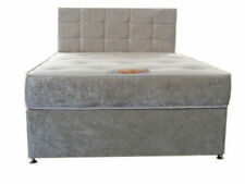 Double Divan Beds with Mattresses