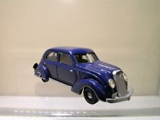 SILVIO RIGHETTI VOLVO PV36 CARIOCA 1936 BLUE WHITEMET.HANDBUILT VERY RARE 1:43