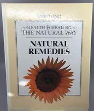 1998 READERS DIGEST HEALTH & HEALING THE NATURAL WAY NATURAL REMEDIES
