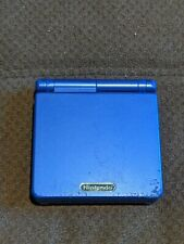 Nintendo Gameboy Advance SP Blue Works - No Charger Incl