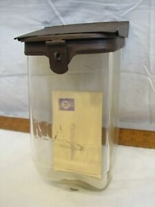 Vitnage Embossed Glass Wall MAIL Letter Box Mailbox Letterbox Post Postal