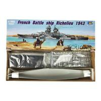 1/350 Scale French Battleship Richelieu 1943 Warship Trumpeter 05311 Model Kit