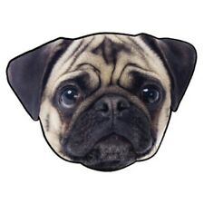 NEW PUG Dog Shaped Beach Towel 64 x 46.5 Inches