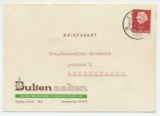 Firma briefkaart Aalten 1969 - Boomkwekerij