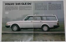 Test Drive Prova 1981 VOLVO 245 GLE D6