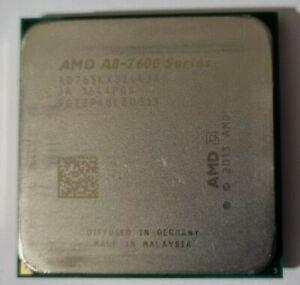 A8-7600 CPU on board Radeon R7 graphics, used