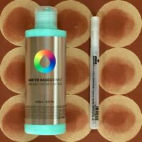 1x MTN Water Based 200ml Paint Refill - Any Colour + 0.8mm Empty Marker
