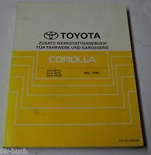 Werkstatthandbuch Toyota Corolla Karosserie / Fahrwerk / Getriebe etc., 05/1995