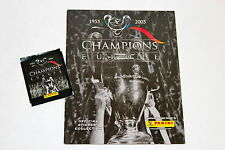 Panini Champions of Europe Champions League 2005 en blanco del álbum Empty album + bolsa