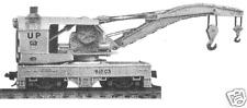 Tichy Train Group 120 Ton Wrecking Crane Kit N Scale