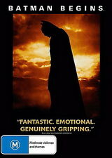 Batman Begins - Adventure / Fantasy / Violence - Christain Bale - NEW DVD