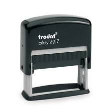tampon printy trodat 4917  2 lignes 50 x 10 mm noir