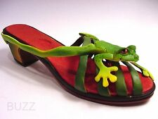 Just the Right Shoe. Ribeting Year 2000 Exclusive Club Collector  Rare Frog Shoe
