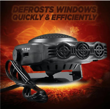 New listing 12V Dc Car Auto Portable Electric Heater Heating Fan Defroster Demister