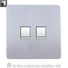 2-Gang Phone Socket Home Electrical Fittings