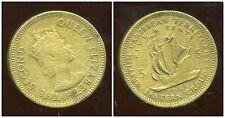 BRITISH  CARAIBES  5 cents 1964