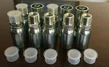 "# MP-08-08, 10 PK, 1/2"" Hose x 1/2"" NPT Male Pipe Hydraulic Hose Fittings HY"