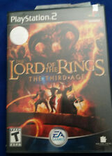 Lord of the Rings Third Age Black Label Playstation 2 PS2 Free US Ship Super Fun